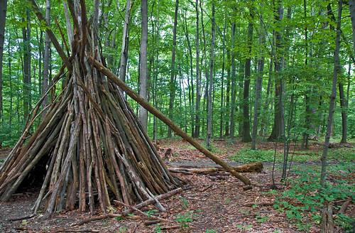 Wood shelter in Short Hills  Kiril Strax  Flickr