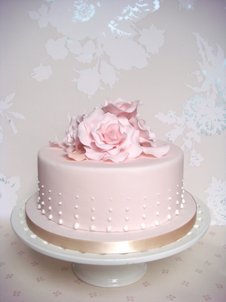 Pastel Pink Rose Petal Cake Smithyclaire Flickr