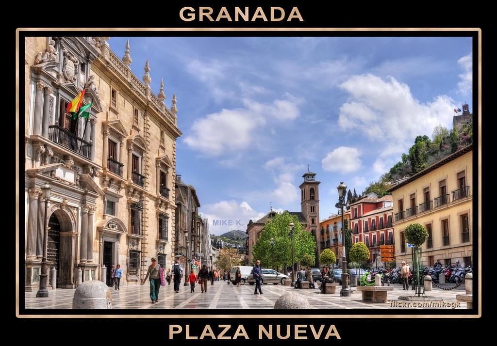 Plaza Nueva Granada  The square is located between the Alb  Flickr