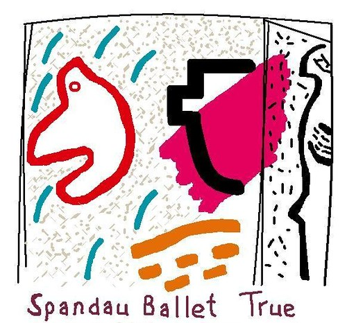 Spandau Ballet True Jack Heath London  Paintmyalbum