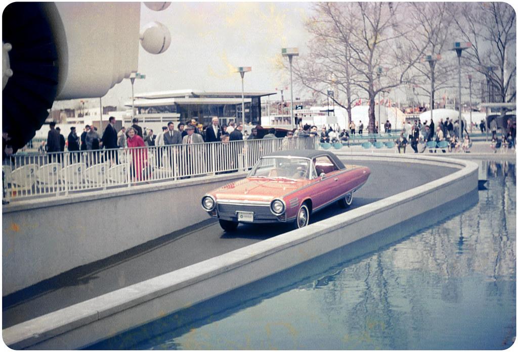 1964 Chrysler Turbine Car  NY Worlds Fair  Front shot
