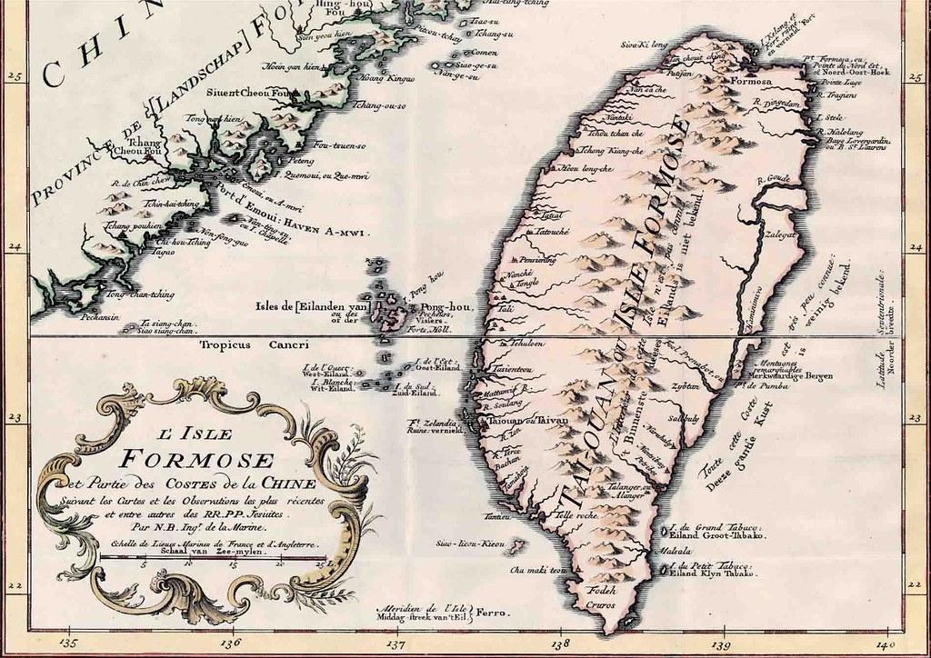 1760 年臺灣古地圖 | 1645. 1760 年臺灣古地圖之臺南古地圖 | hycheng2 | Flickr