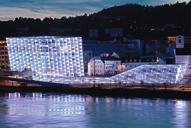Light faade Ars Electronica Center  Flickr  Photo Sharing