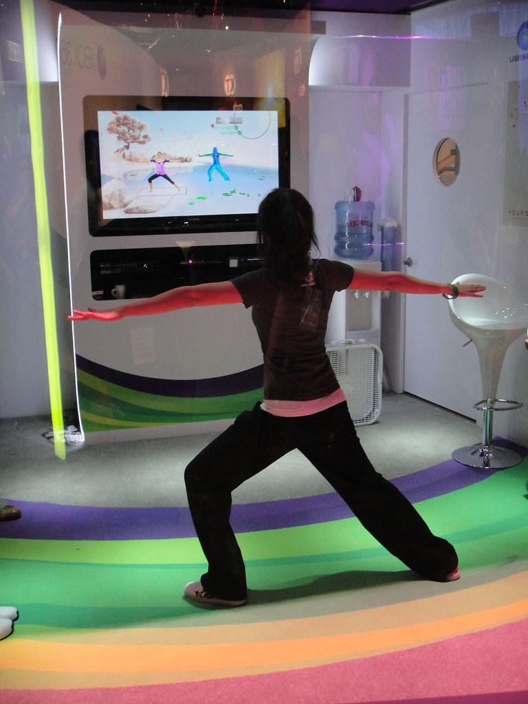 E3 Xbox 360 Kinect Your Shape Fitness Evolved Demo Bo