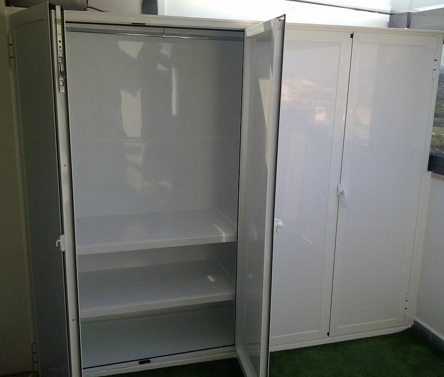 Armario de aluminio para exterior  Armario de aluminio
