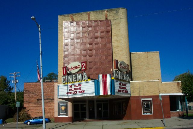 Urbana Cinema  Urbana OH  I grew up in the Gloria