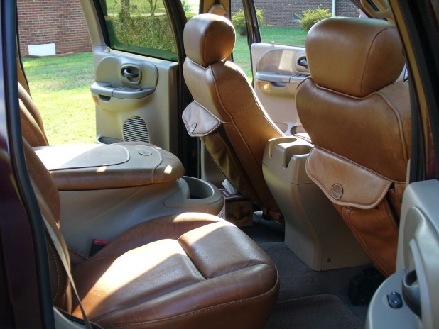 2001 Ford F 150 King Ranch Rear Interior By Nc59fairlane