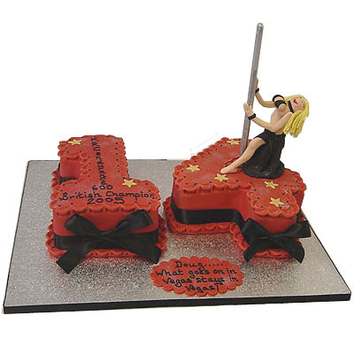X Rated Birthday Cake Rachel Brown Flickr