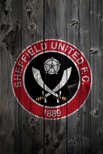 Sheffield United Iphone Wallpaper Sheffield United Fc Wood Iphone 4 Background Logo On