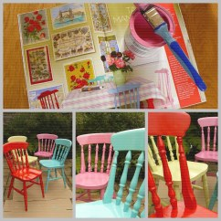 Painted Kitchen Chairs Industrial Faucet Inspired By Cath Kidston My