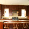 Modern kitchen with cabinets up to ceiling modern kitchen