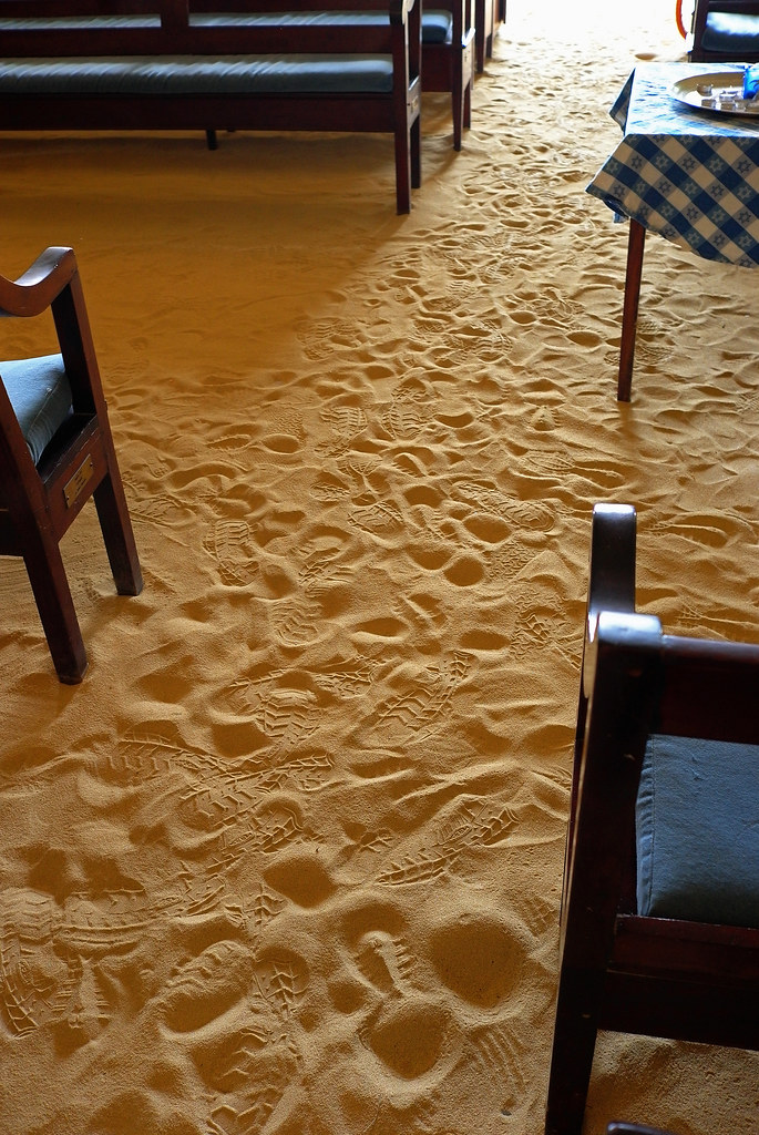 Sand Floor Synagogue  SYNAGOGUE OF BERACHA VESHALOM