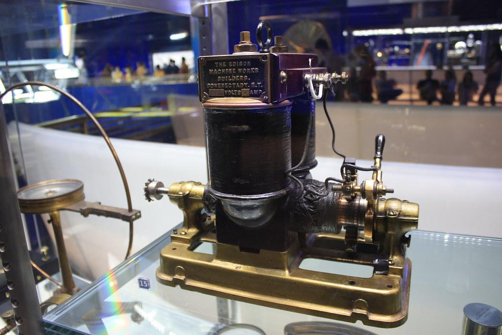 Edison Dynamo Electric Generator In The Fall Of 1878