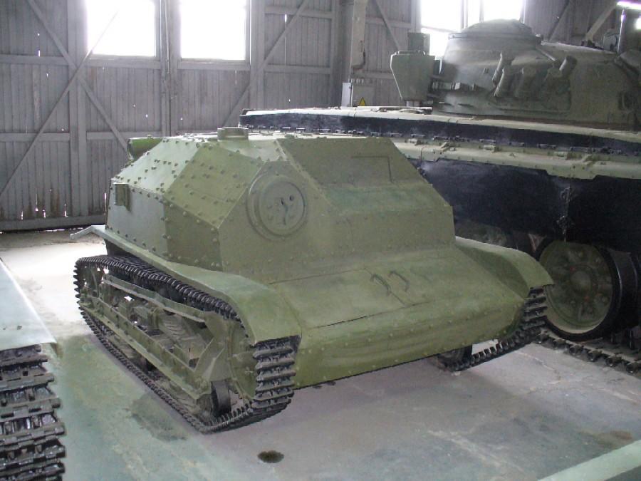 TKS tankette Poland  Kubinka Tank Museum Moscow oblast
