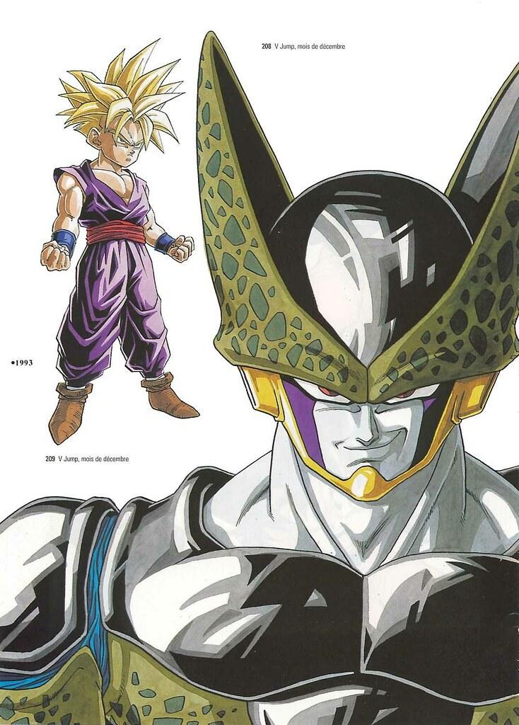 Anime Magic Wallpaper Daizenshuu 01 Page131 Dragon Ball Daizenshuu 01 Le Grand