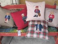 FLOWN: Polo Bear pillows by Ralph Lauren   The Living Room ...