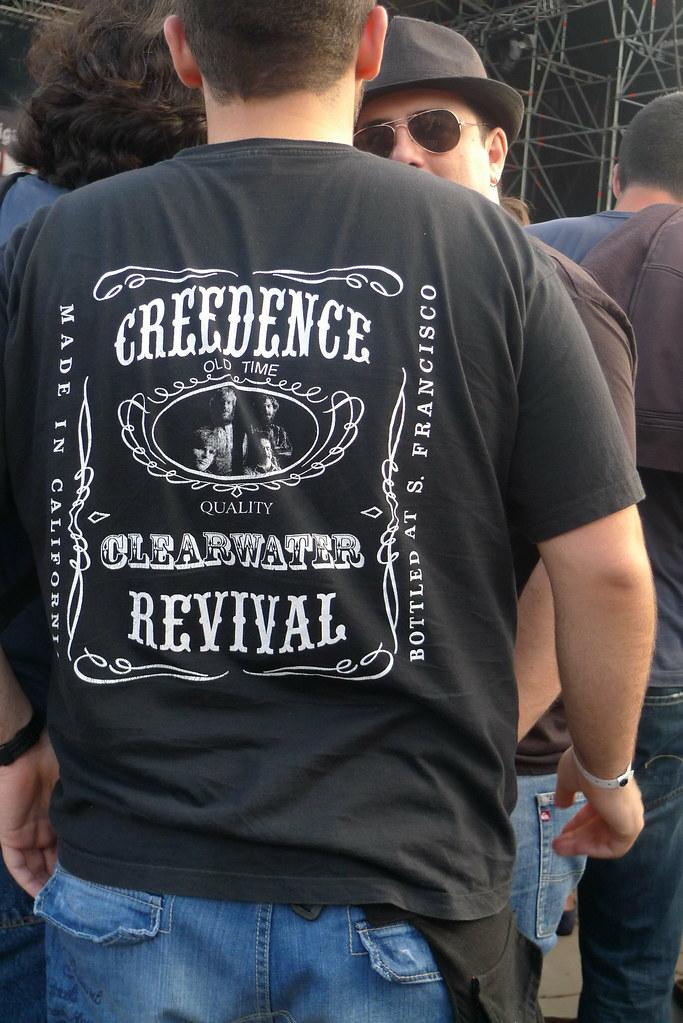 Creedence Clearwater Revival tshirt  Primavera Sound 2010  Flickr