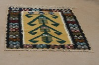 Turkish Kilim 4 ft 4 inches by 2 ft 9 inches $125 ...