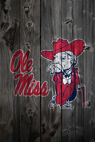 Arkansas Razorbacks Iphone Wallpaper Ole Miss Rebels Wood Iphone 4 Background Ole Miss Rebels
