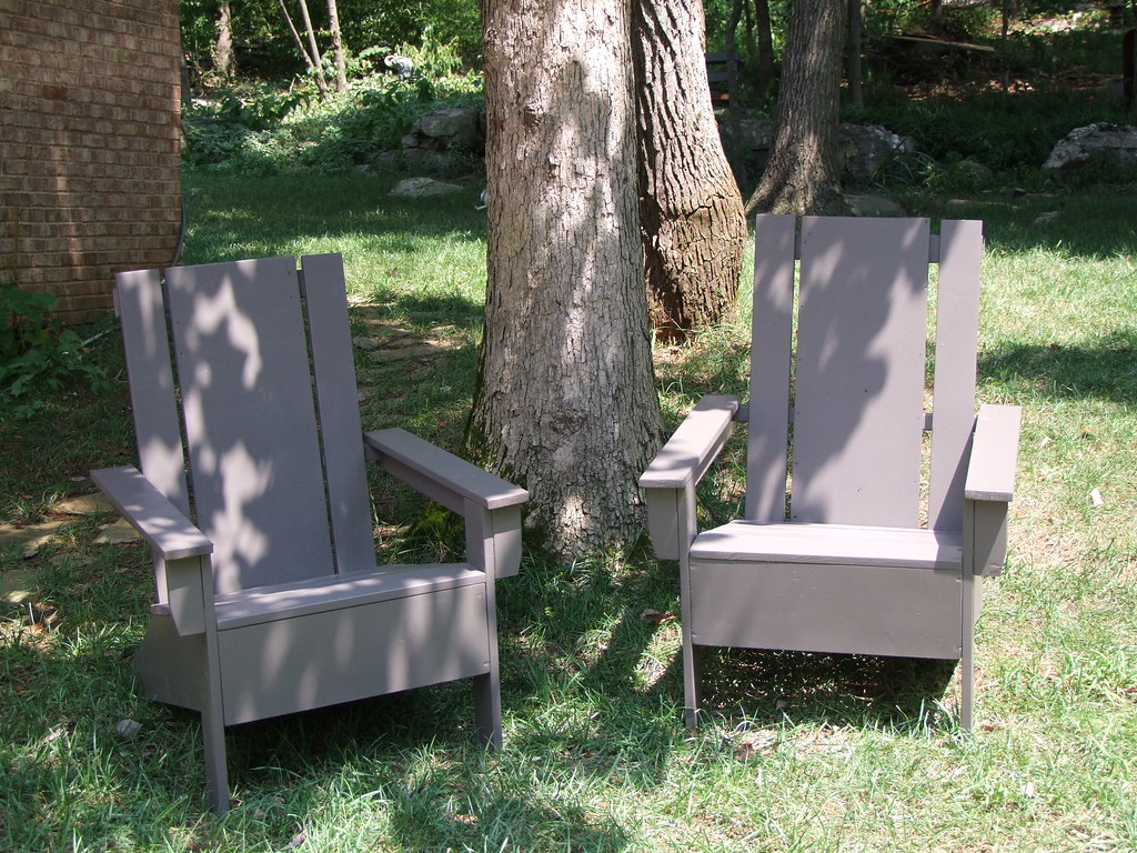 modern adirondack chair 6 foot bean bag chairs made with plans from ana white