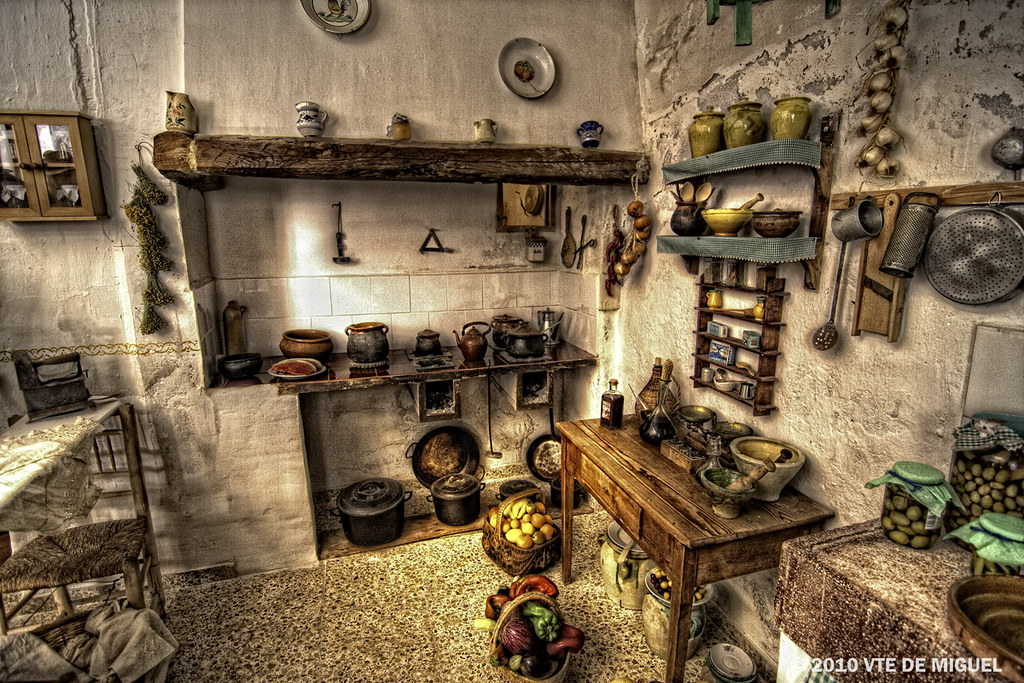 Cocina de casa antigua  Sella Alicante Espaa  Flickr
