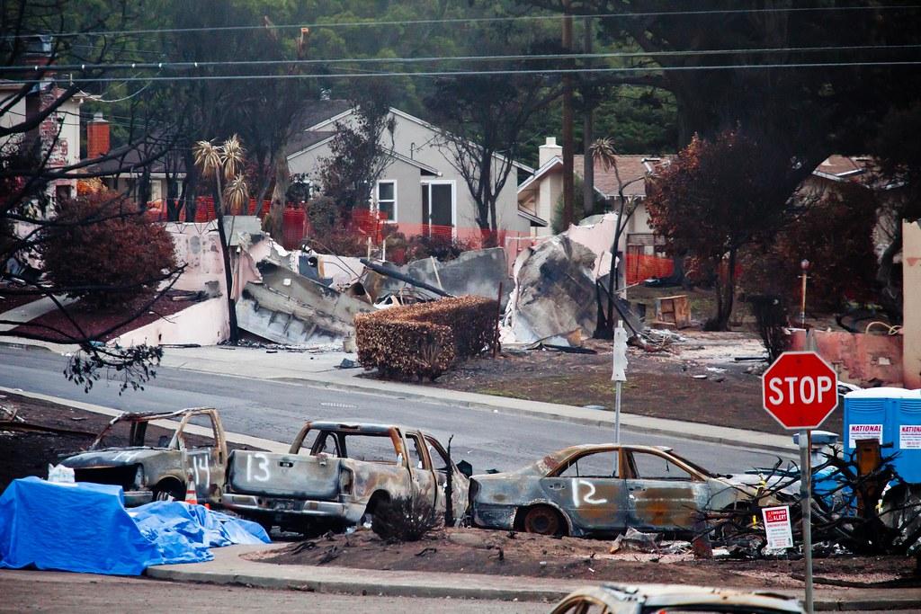 Gas Line Explosion Damage San Bruno Gas Line Explosion 2