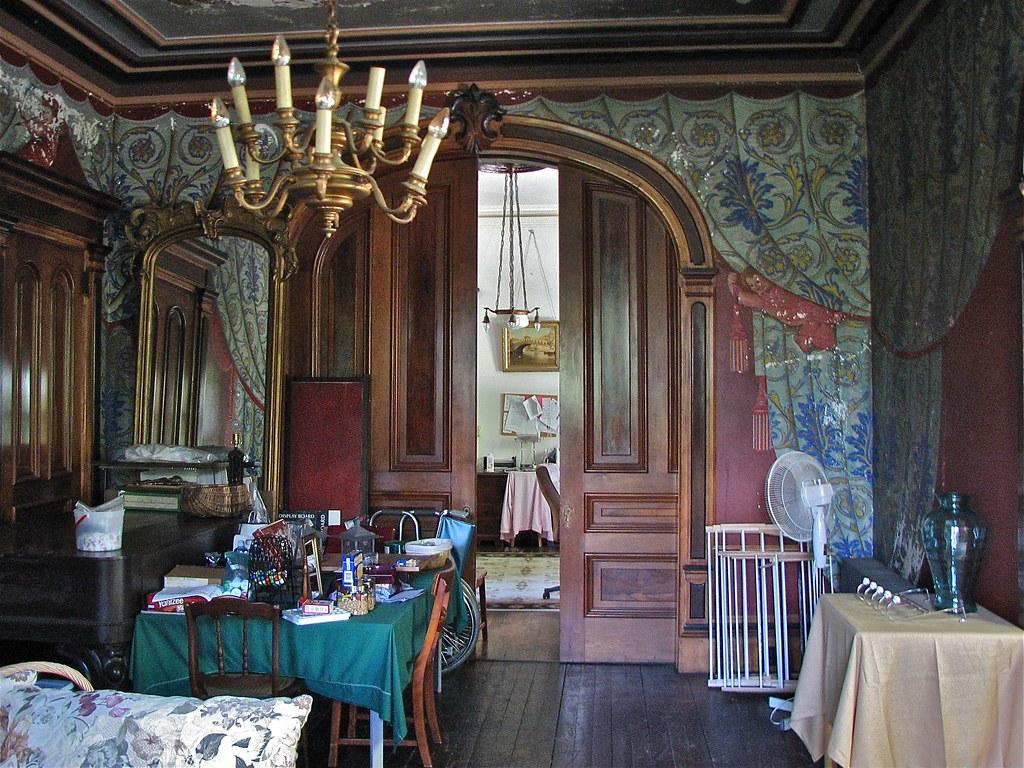 Shard Villa 18721874  interior trompe loeil fresco d  Flickr