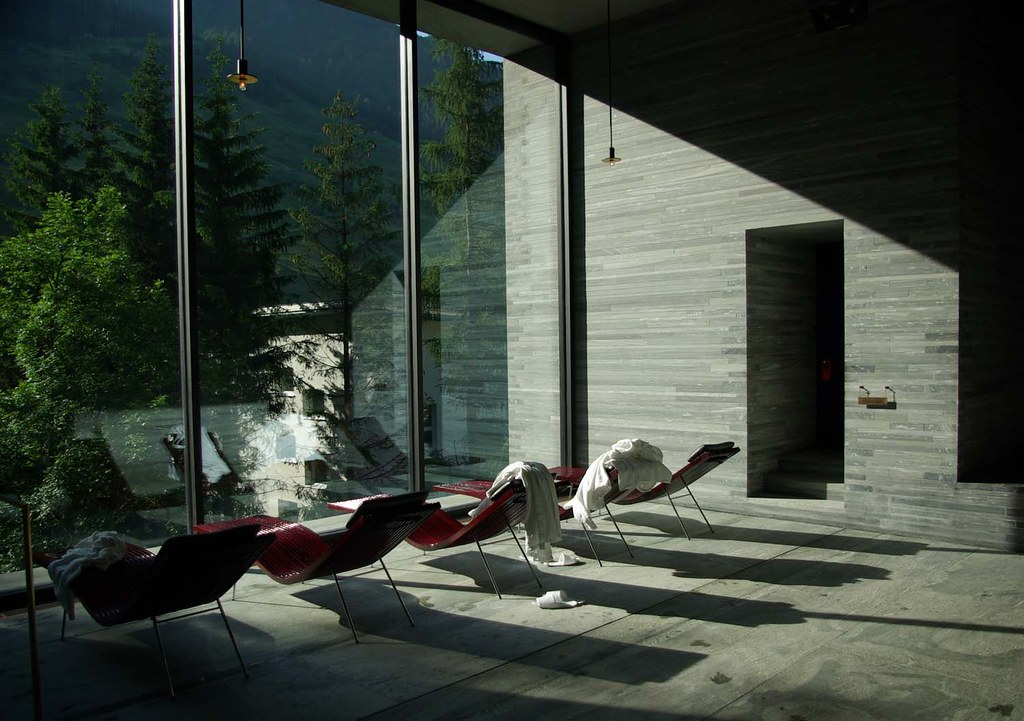 Vals Therme Peter Zumthor  Patrick Tantra  Flickr