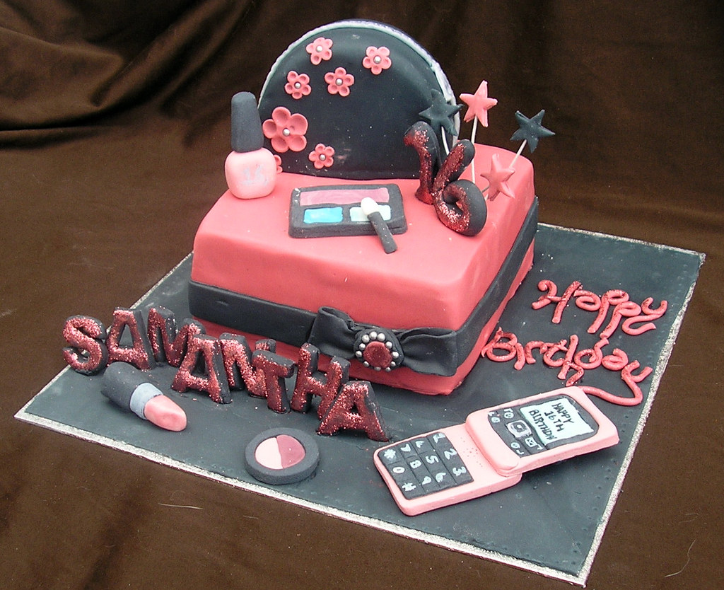 16th Birthday Girly Cake