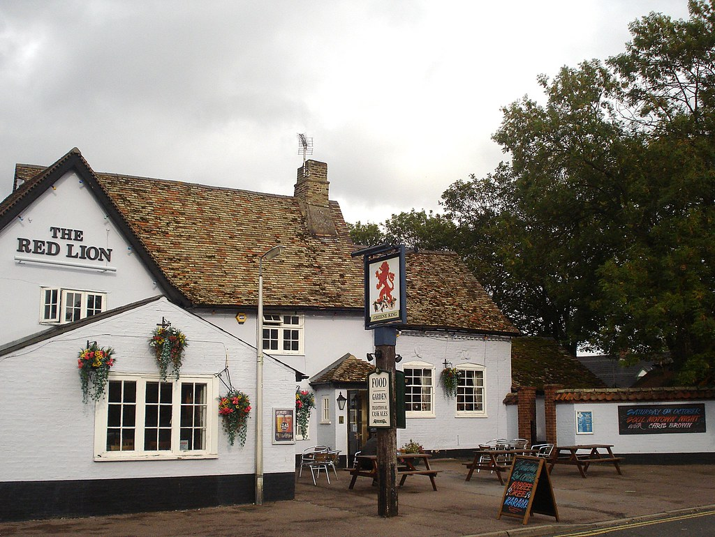 Red Lion Cherry Hinton Cambridge  Links Open Guide to