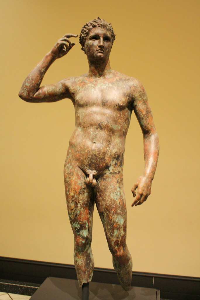 A Highly Important Hellenistic Lifesize Bronze Statue of