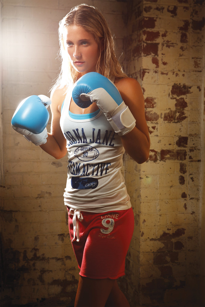 Lorna Jane Boxing   Blake Singlet  Pammy Crop  College T  Flickr