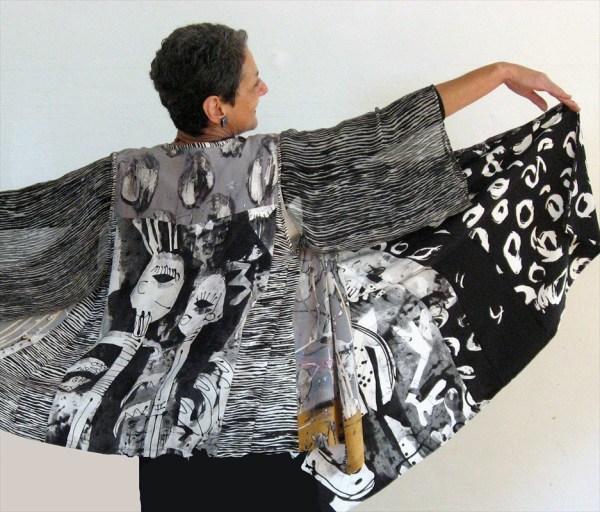 Kerr Grabowski Teaches Quilt Surface Design Symposium 2
