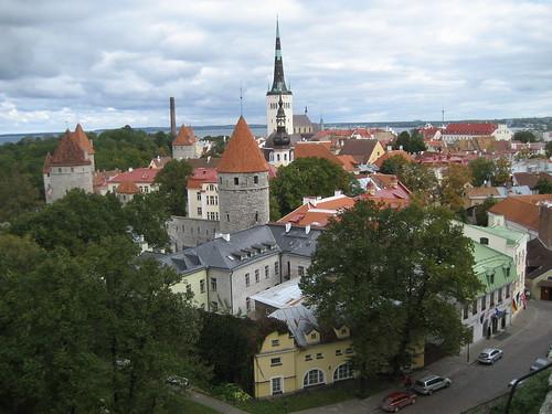 Patrimonio de la Humanidad en Europa y América del Norte. Estonia. Ciudad Vieja de Tallín.