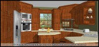 3D Computer Rendering - Kitchen (SketchUp Rendering) | Flickr