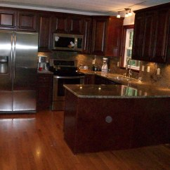 Full Kitchen Cabinets Cream Colored Appliances American Corporation High End | ...