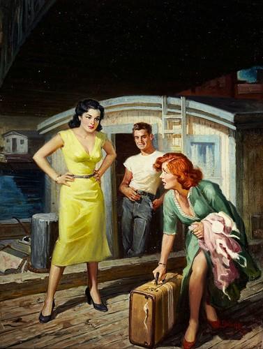 3d Girl Wallpaper Rudolph Belarski Green Dress Is Beating A Retreat As