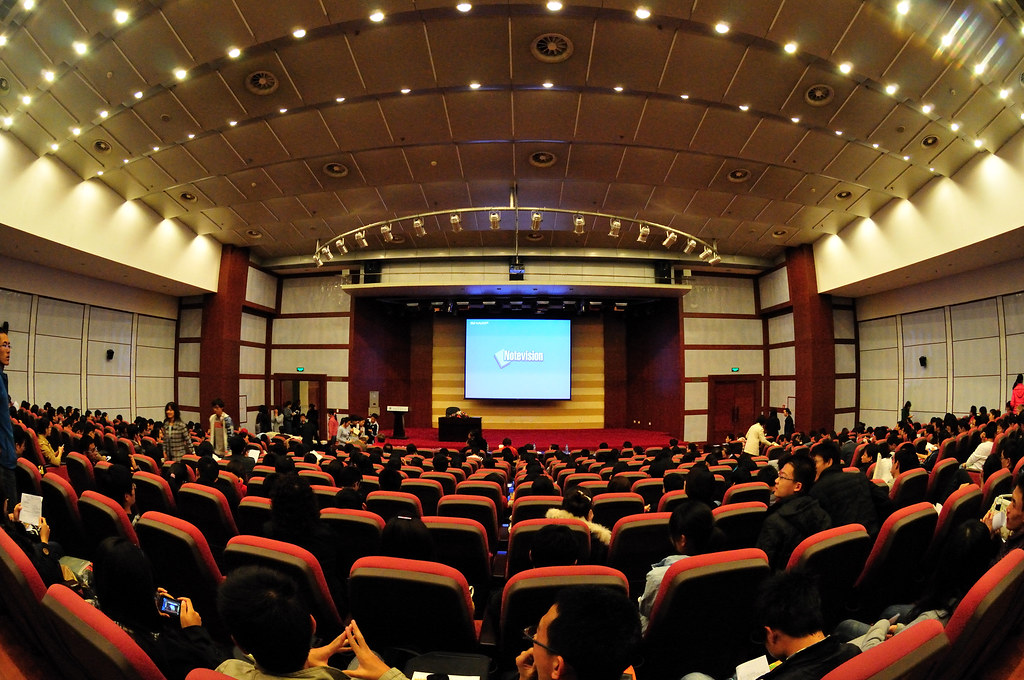 Dalian University Of Technology Lecture Hall Featured On