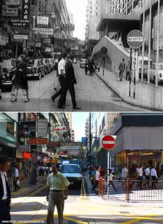 尖沙咀 - 北京道,樂道 交界 60's | 這 裡是 60 年代 北京道,樂道 交界。 舊圖右邊可見 1964 年開業… | Flickr