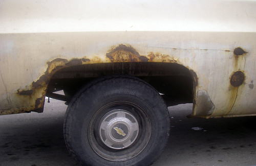really rusty Chevrolet pickup truck wheel  tofightfortheright  Flickr