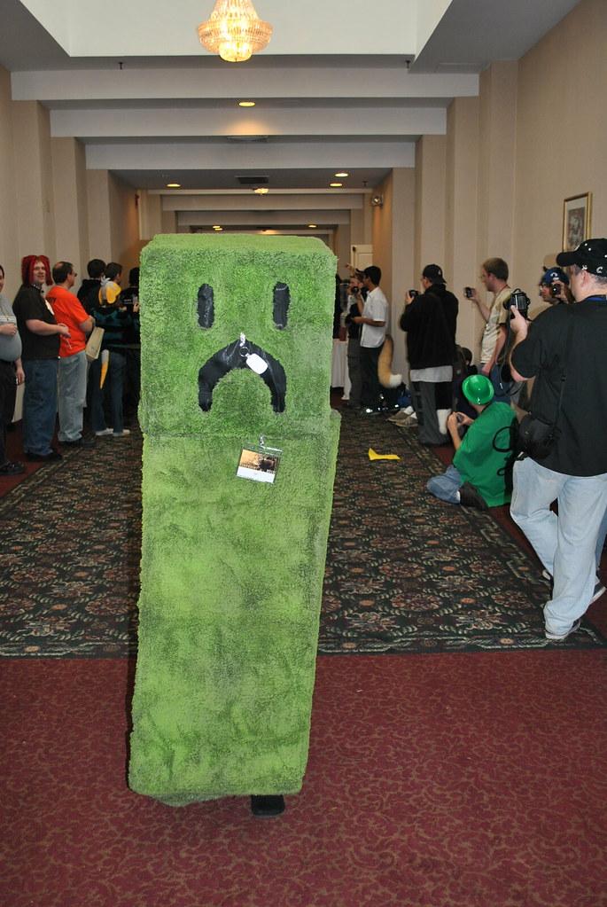 Minecraft Creeper Douglas Muth Flickr