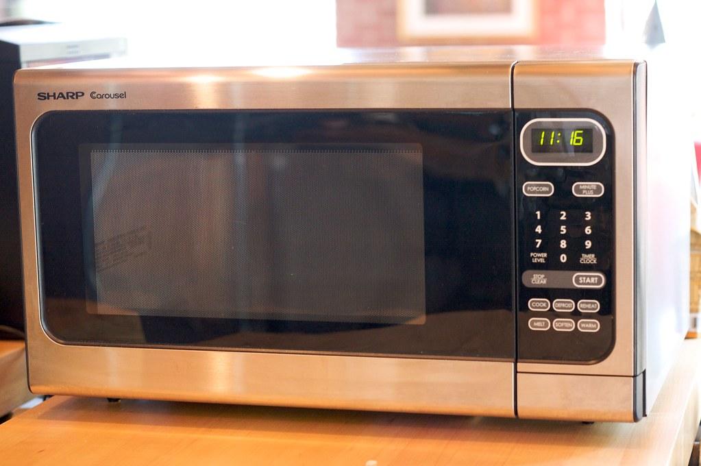 Sharp Carousel Microwave  Chris Kelly  Flickr