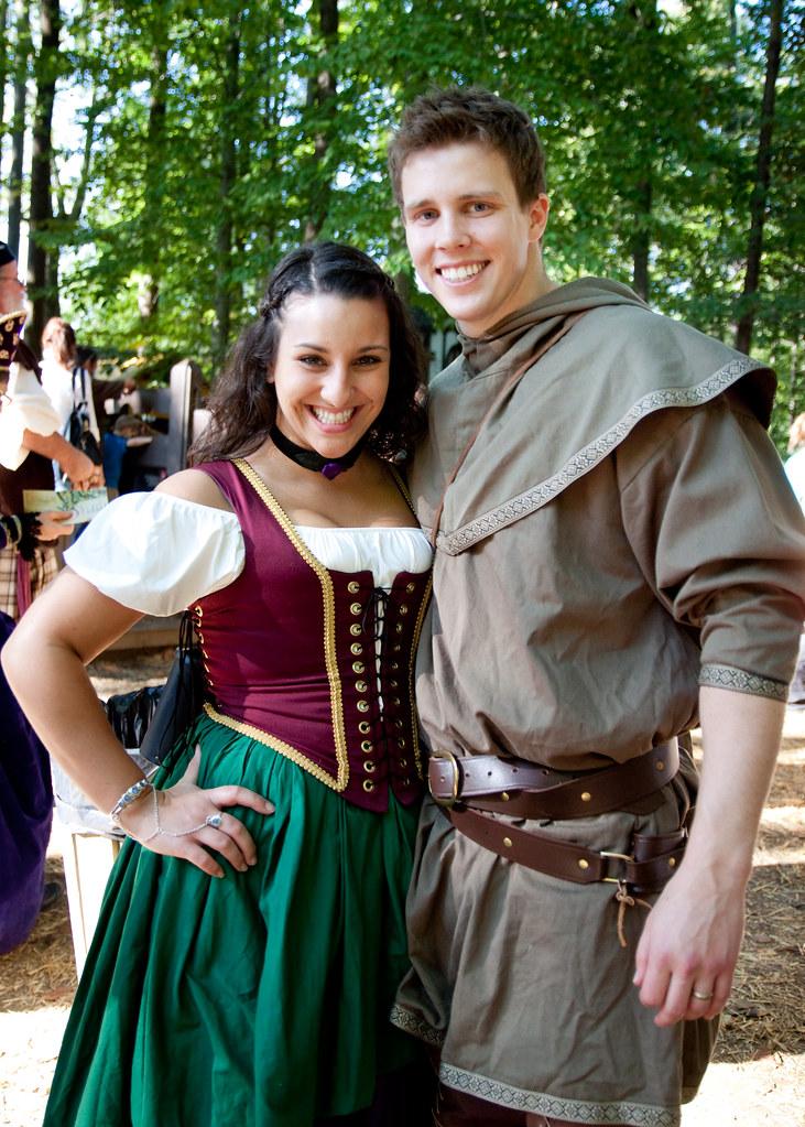 Peasant couple  Maryland Renaissance Festival 2010  Flickr