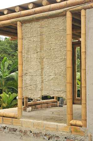 Tendinoso sistema constructivo con guadua  Guadua