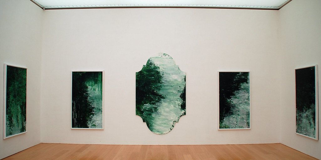 Untitled green paintings  Cy Twombly Gallery Untitled