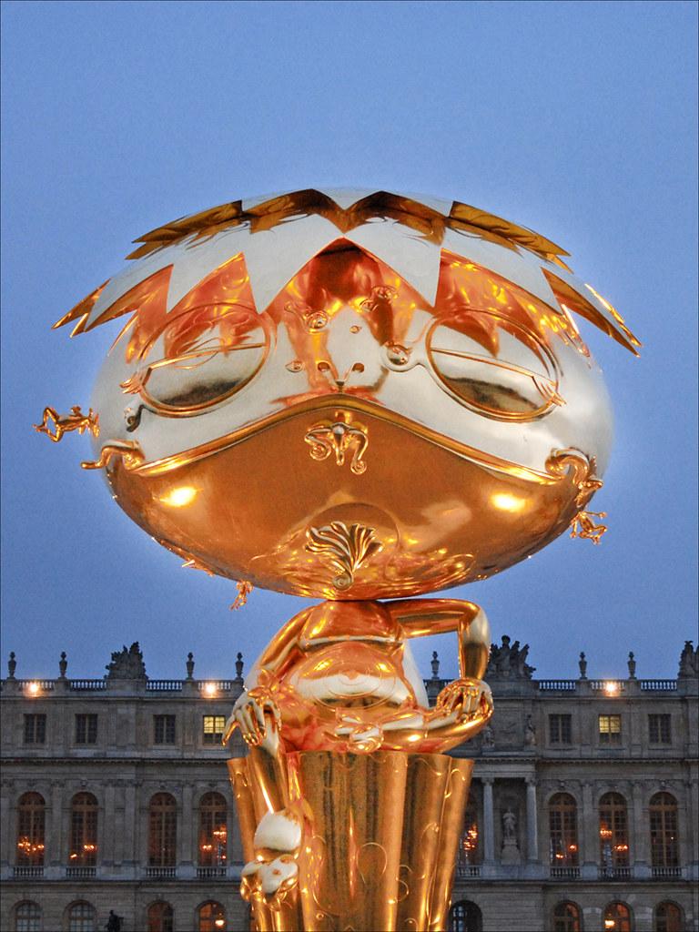 Murakami  Versailles  Oval Buddha Oeuvre de Takashi Muraka  Flickr