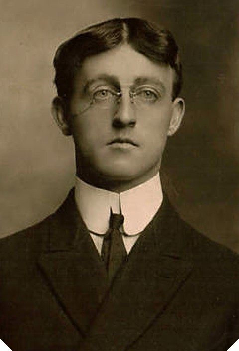 Young Man Formal Portrait 1890s NY This Young Man
