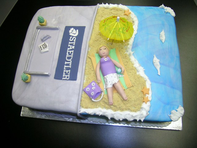 Retirement Beach Cake Cake Ideas and Designs