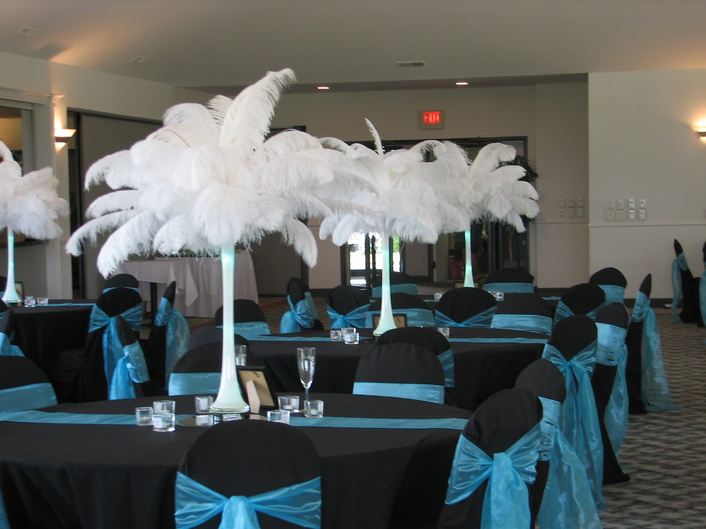 Black And Teal Wedding Colors