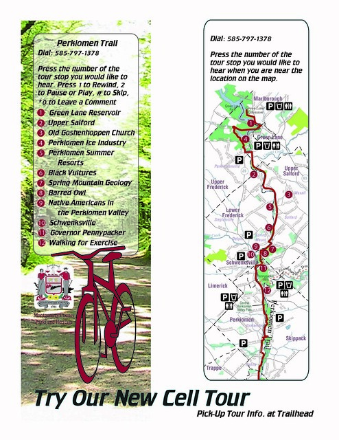 Montgomery County39s Perkiomen Trail Cell Phone Tour Map